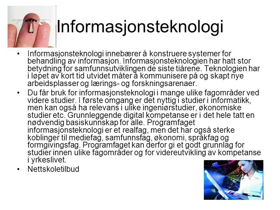 Informasjonsteknologi