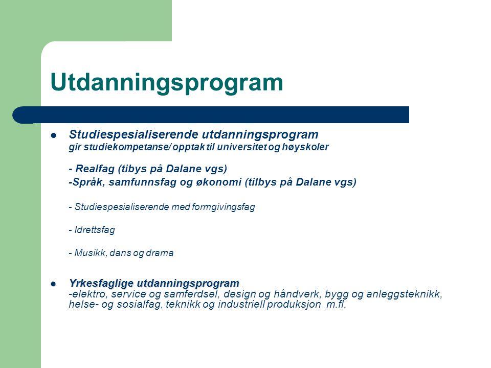 Utdanningsprogram Studiespesialiserende utdanningsprogram