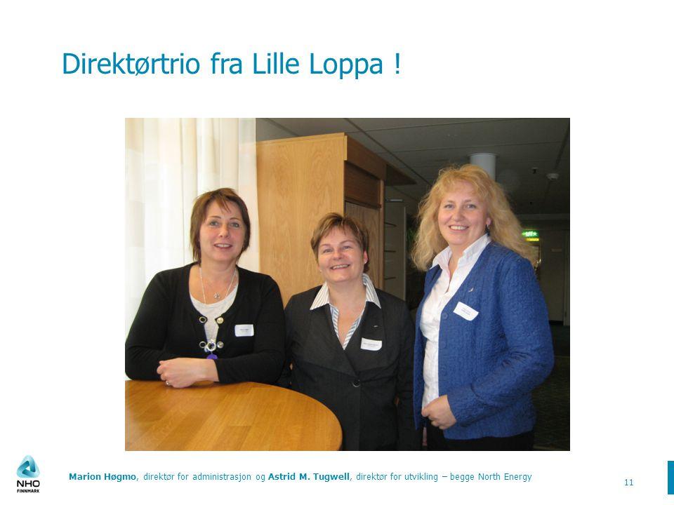 Direktørtrio fra Lille Loppa !