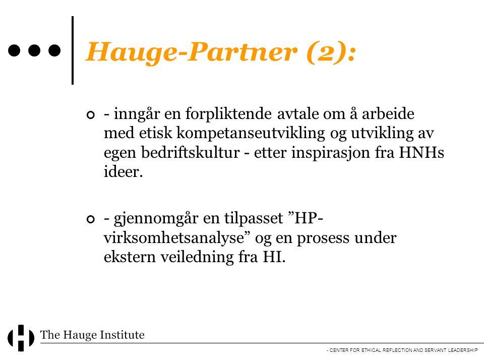 Hauge-Partner (2):