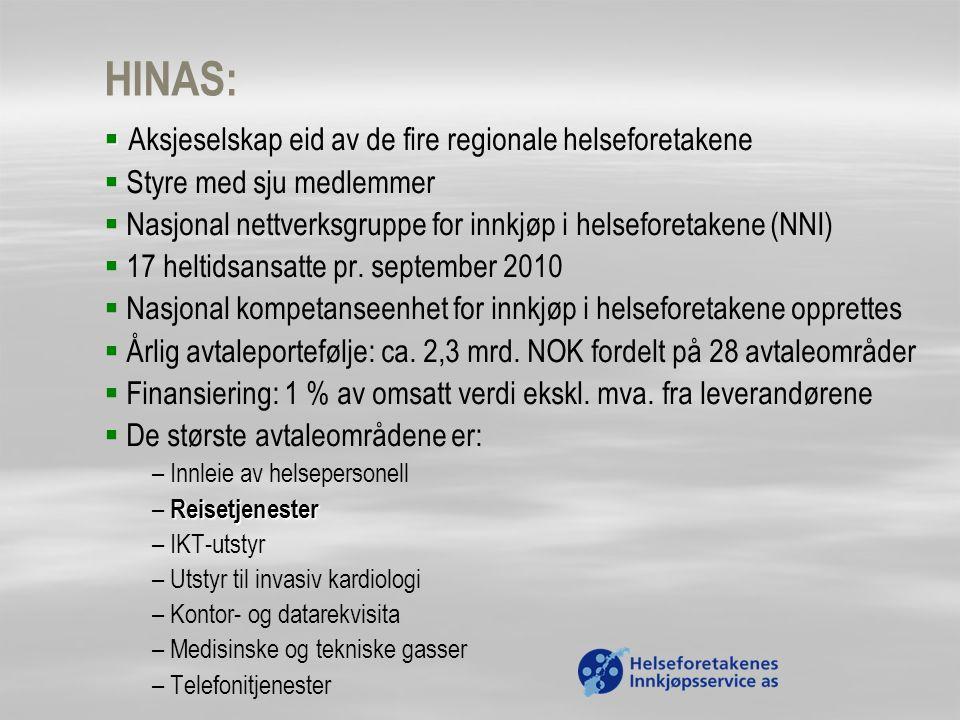 HINAS: Aksjeselskap eid av de fire regionale helseforetakene