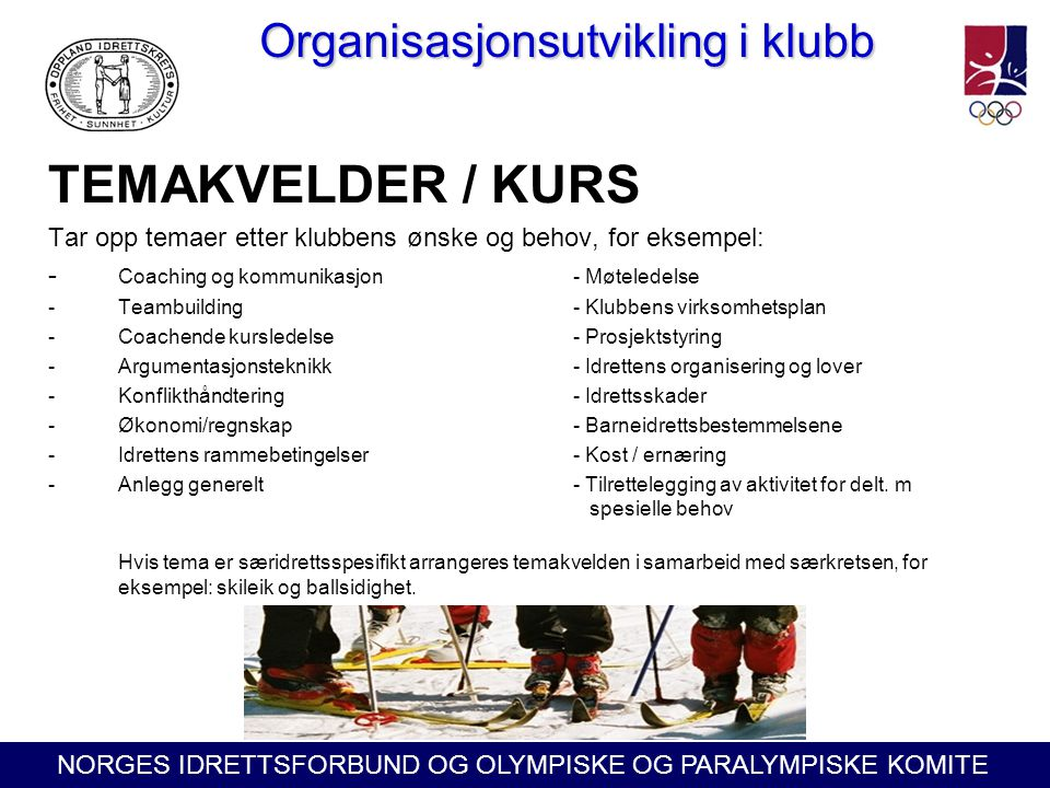 Organisasjonsutvikling i klubb
