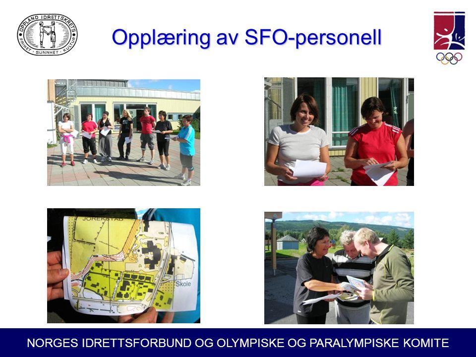 Opplæring av SFO-personell