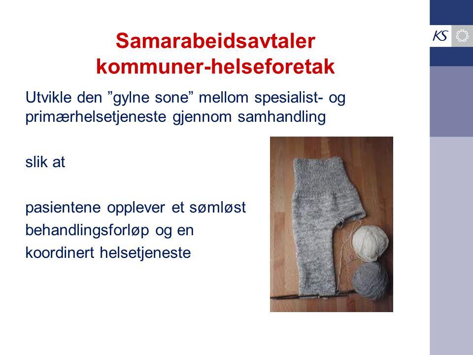 Samarabeidsavtaler kommuner-helseforetak