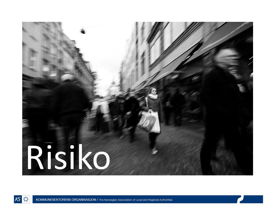 Risiko Hvem er villige til å ta risiko i off sektor Hvem har noe å tjene på det