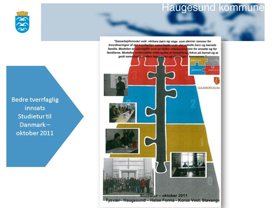 Bedre tverrfaglig innsats Studietur til Danmark – oktober 2011