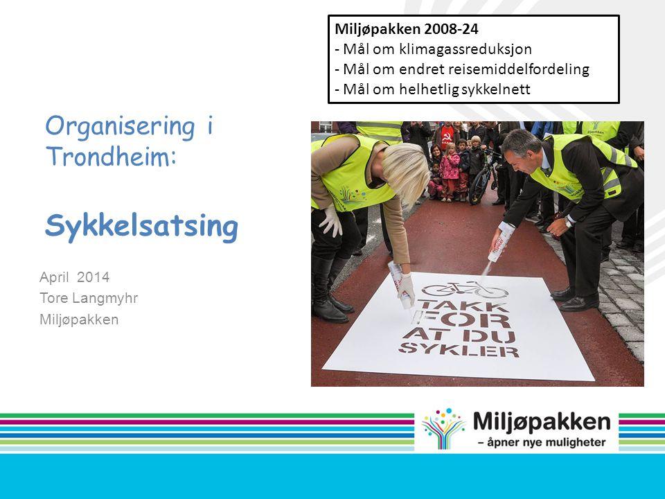 Organisering i Trondheim: Sykkelsatsing
