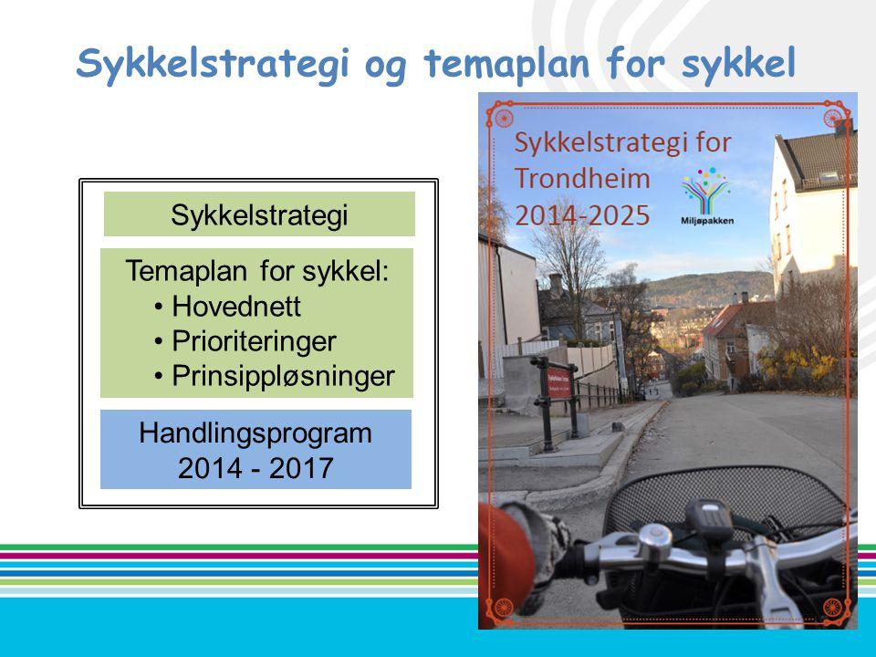 Sykkelstrategi og temaplan for sykkel