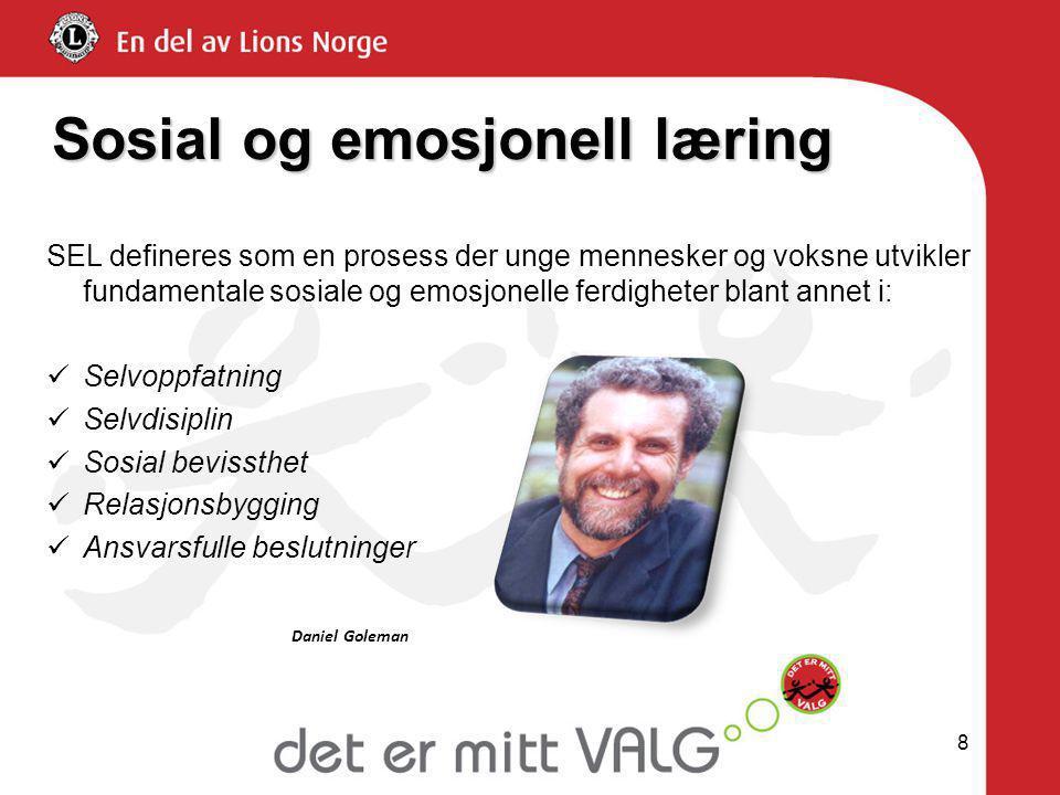 Sosial og emosjonell læring