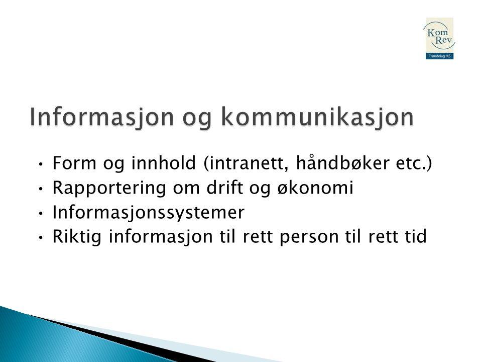 Informasjon og kommunikasjon