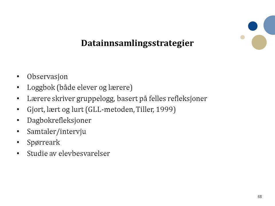 Datainnsamlingsstrategier