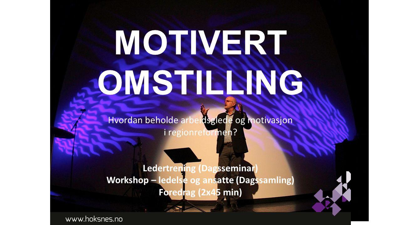 Workshop – ledelse og ansatte (Dagssamling)