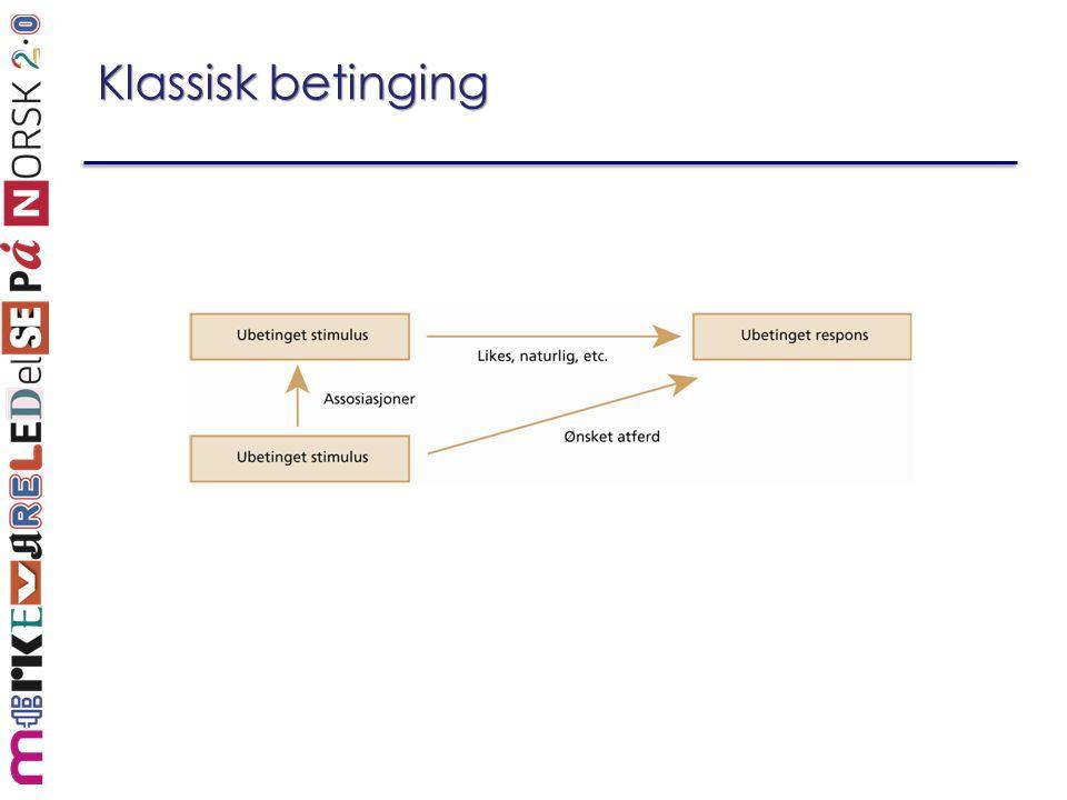 Klassisk betinging