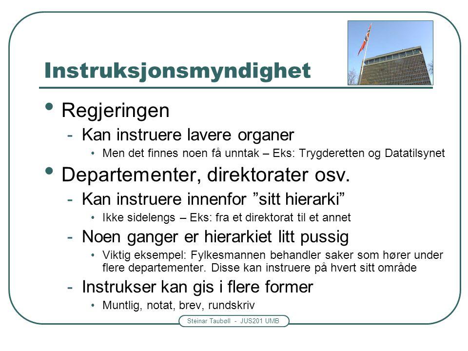 Instruksjonsmyndighet