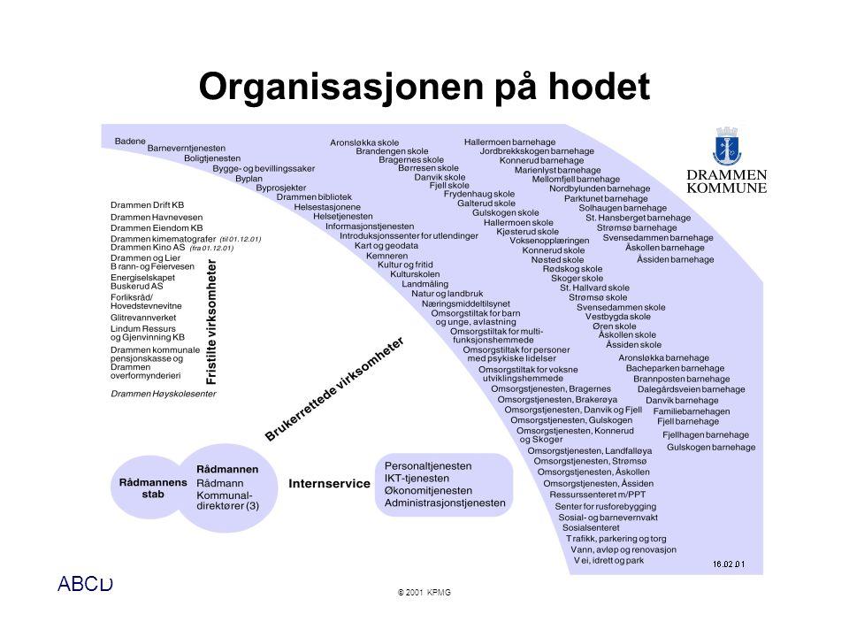 Organisasjonen på hodet
