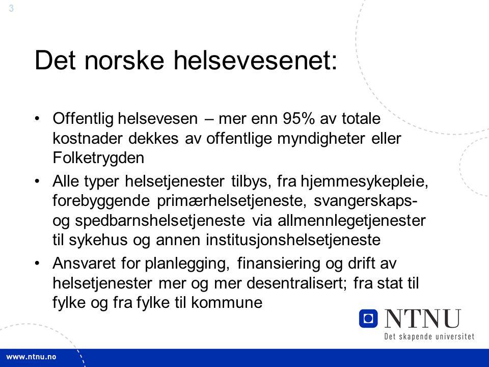 Det norske helsevesenet: