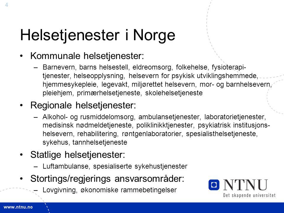 Helsetjenester i Norge