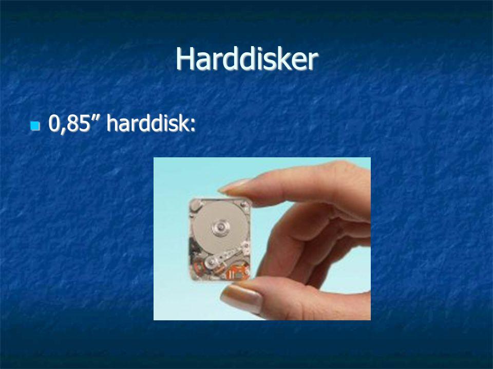 Harddisker 0,85 harddisk: