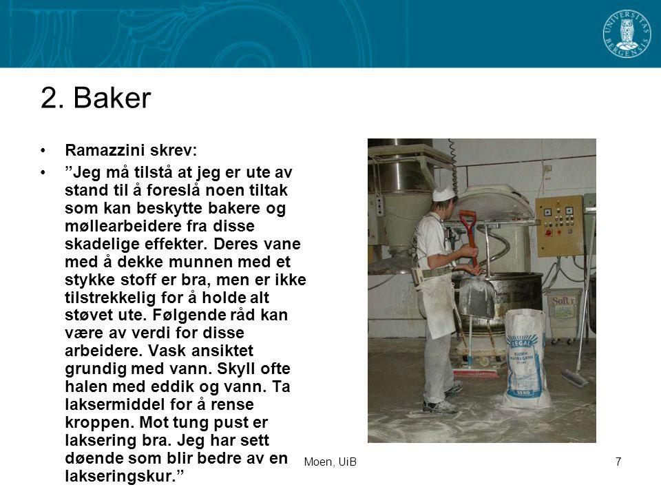 2. Baker Ramazzini skrev: