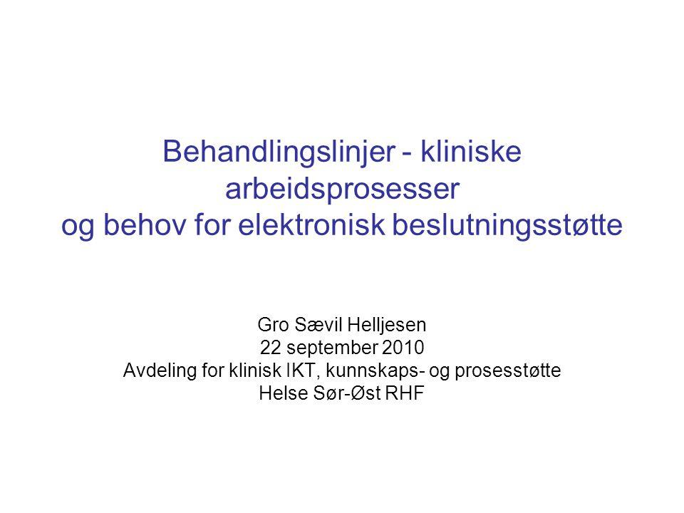 Avdeling for klinisk IKT, kunnskaps- og prosesstøtte