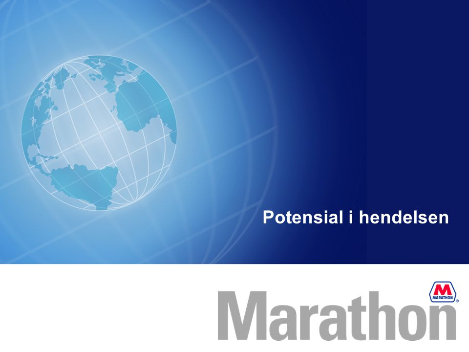 Potensial i hendelsen Potential of event