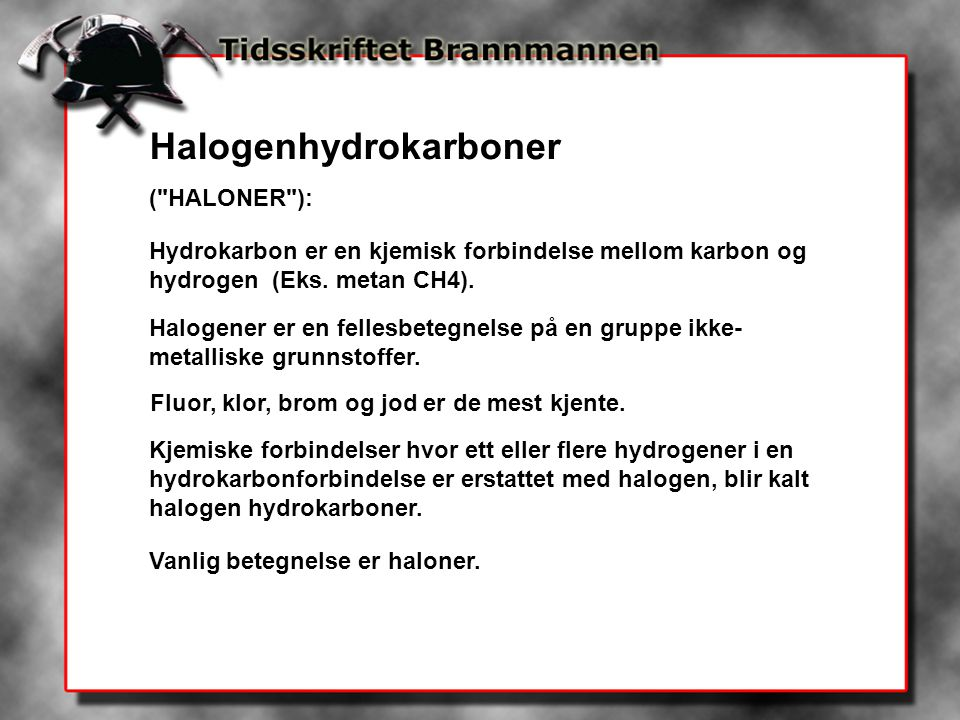 Halogenhydrokarboner