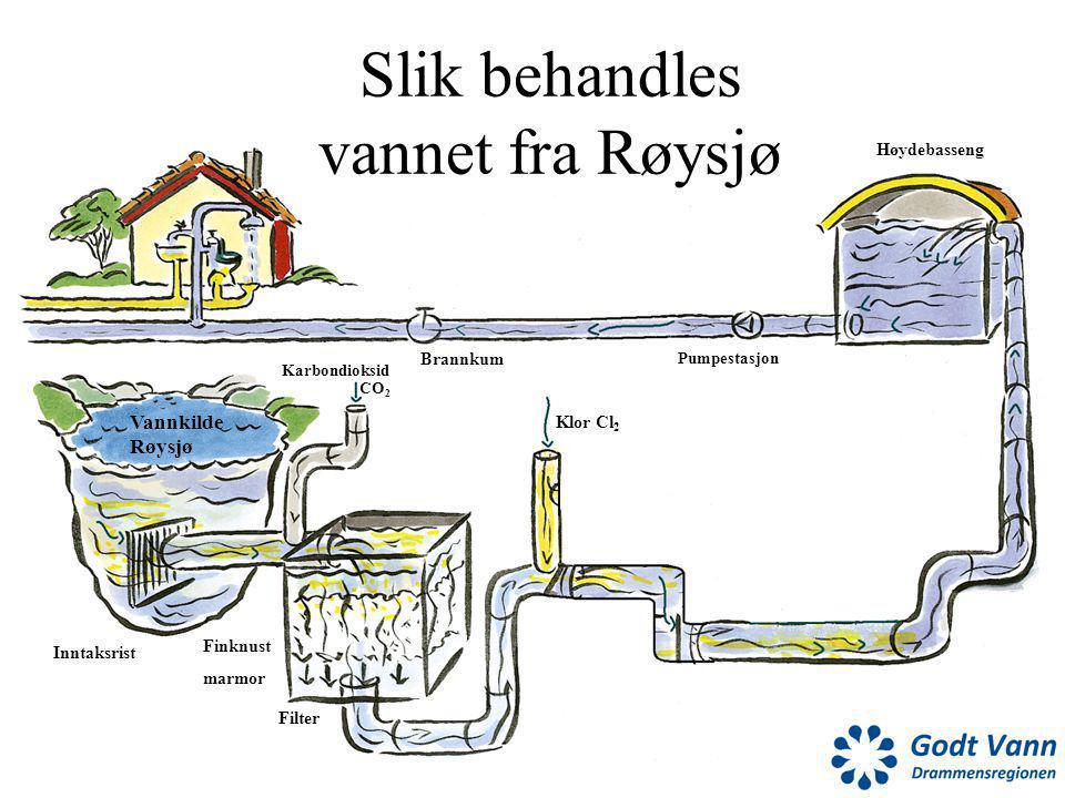 Slik behandles vannet fra Røysjø