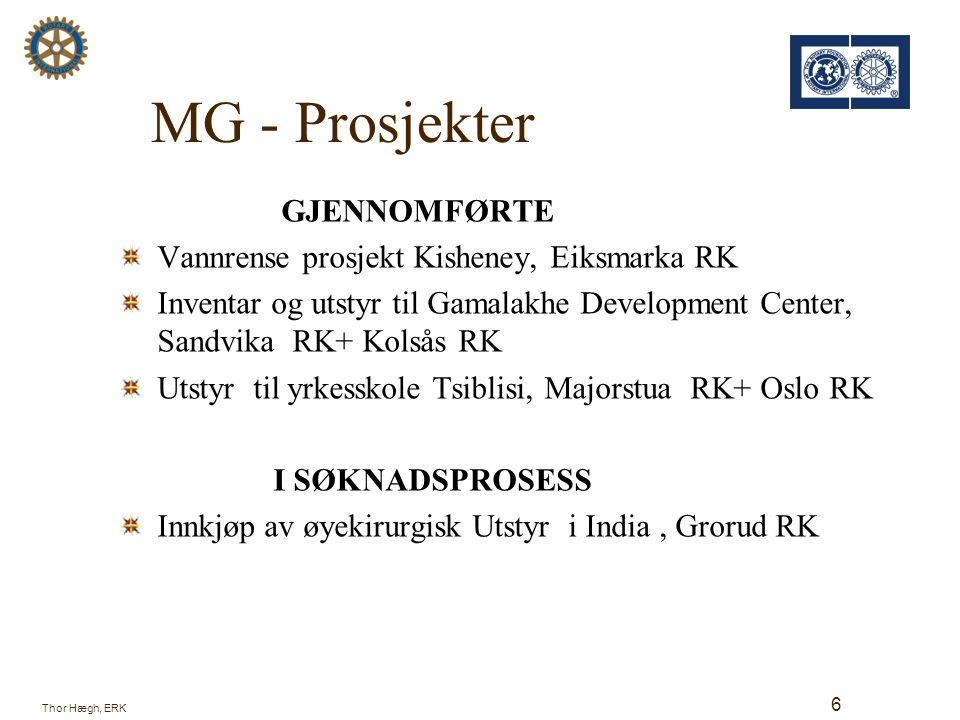MG - Prosjekter GJENNOMFØRTE Vannrense prosjekt Kisheney, Eiksmarka RK