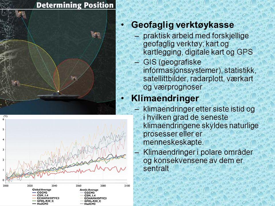 Geofaglig verktøykasse