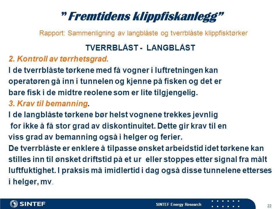 TVERRBLÅST - LANGBLÅST