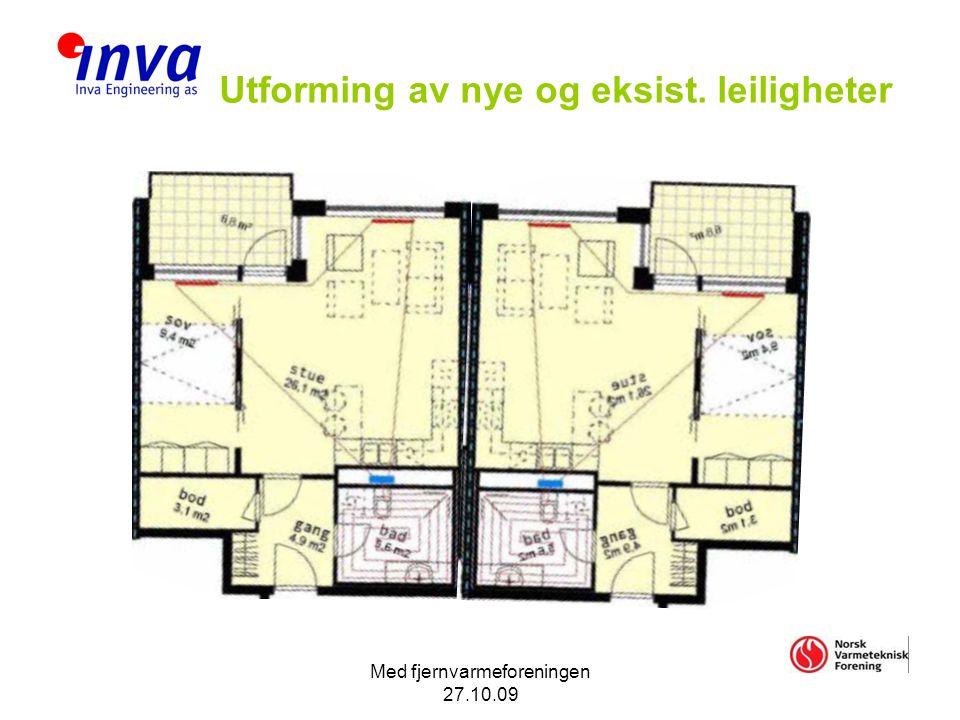 Utforming av nye og eksist. leiligheter
