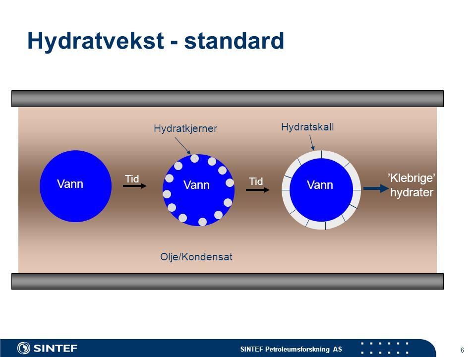 Hydratvekst - standard