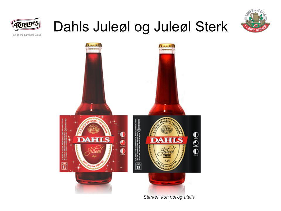 Dahls Juleøl og Juleøl Sterk