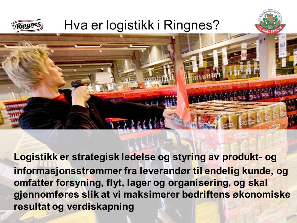 Hva er logistikk i Ringnes