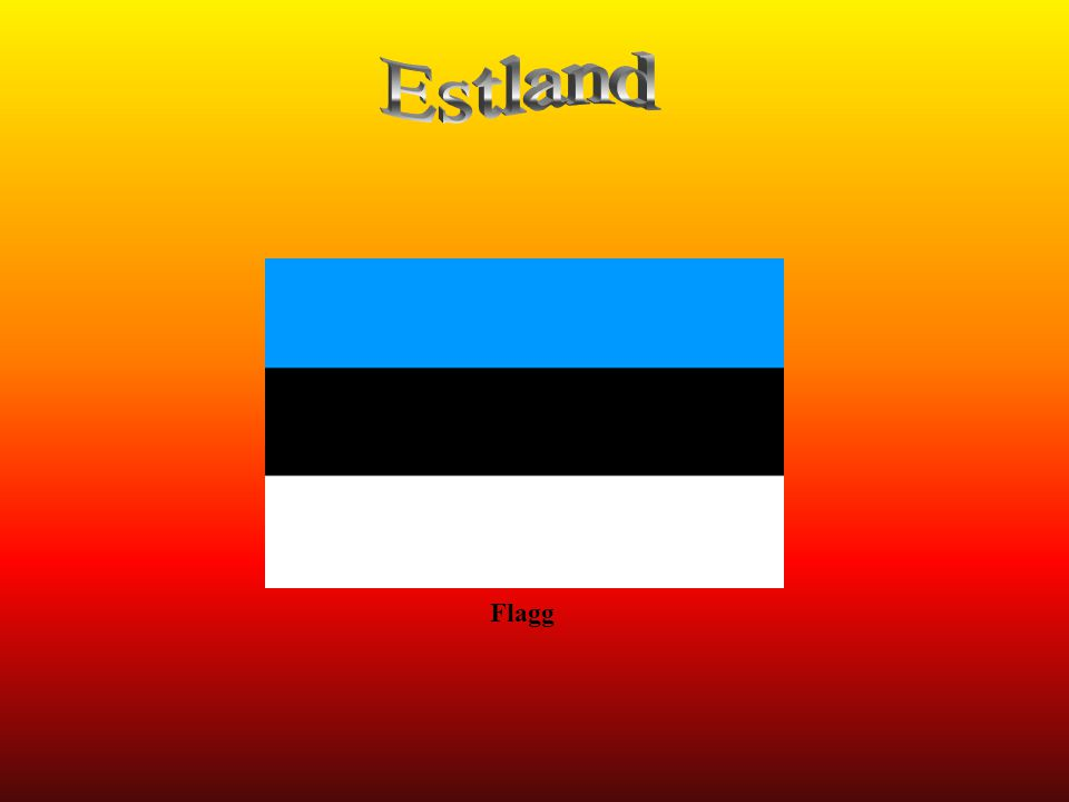 Estland Flagg