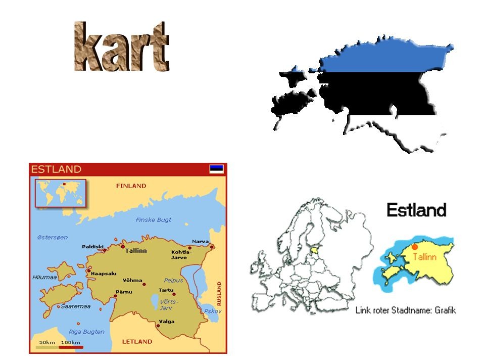 kart estland