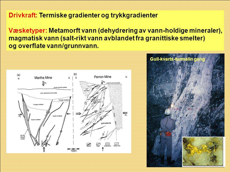 Drivkraft: Termiske gradienter og trykkgradienter