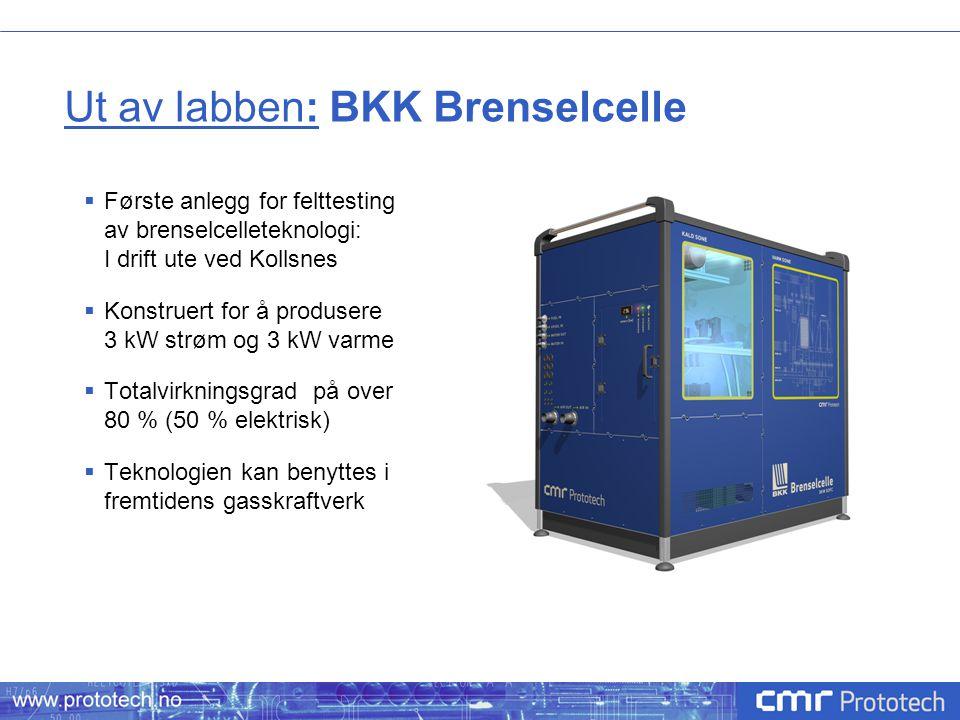 Ut av labben: BKK Brenselcelle