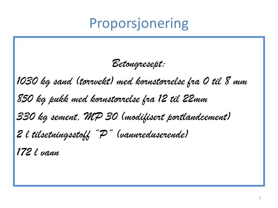 Proporsjonering