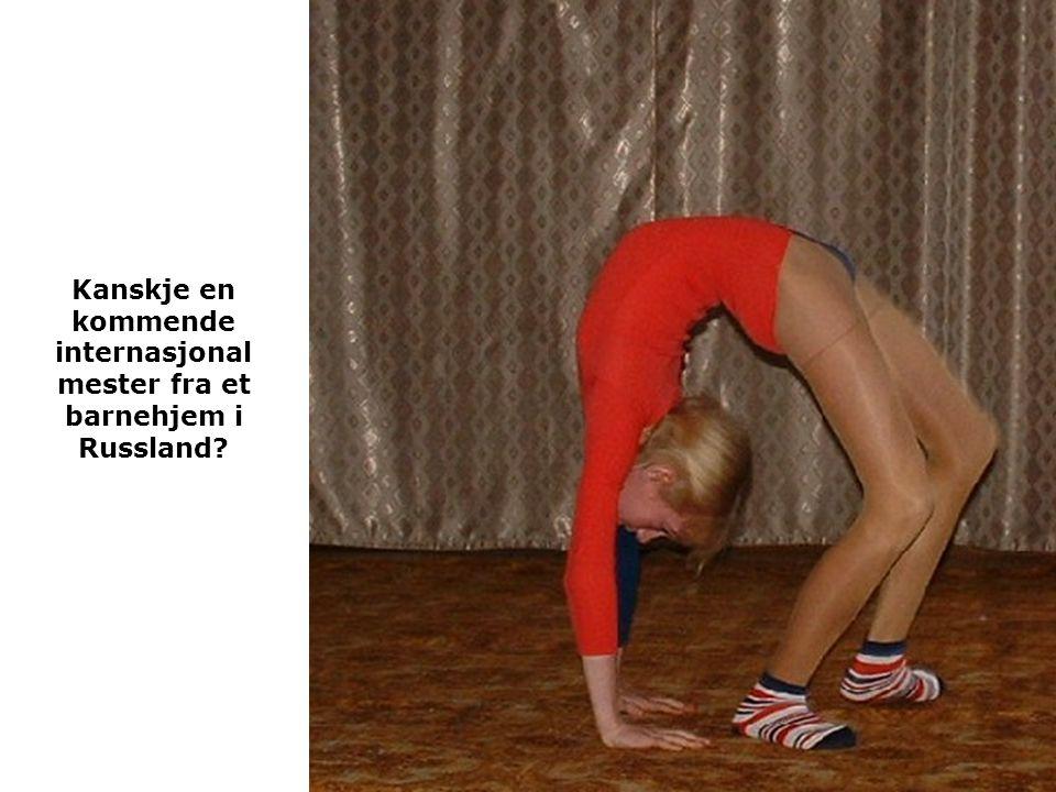 Kanskje en kommende internasjonal mester fra et barnehjem i Russland