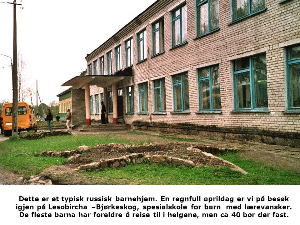 Dette er et typisk russisk barnehjem