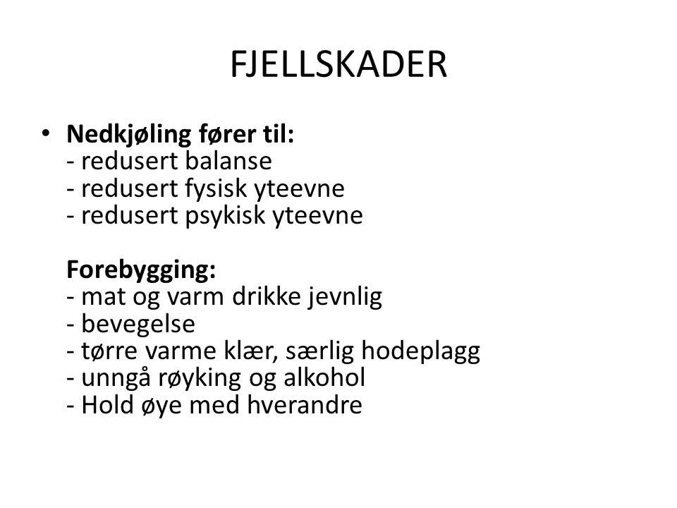 FJELLSKADER