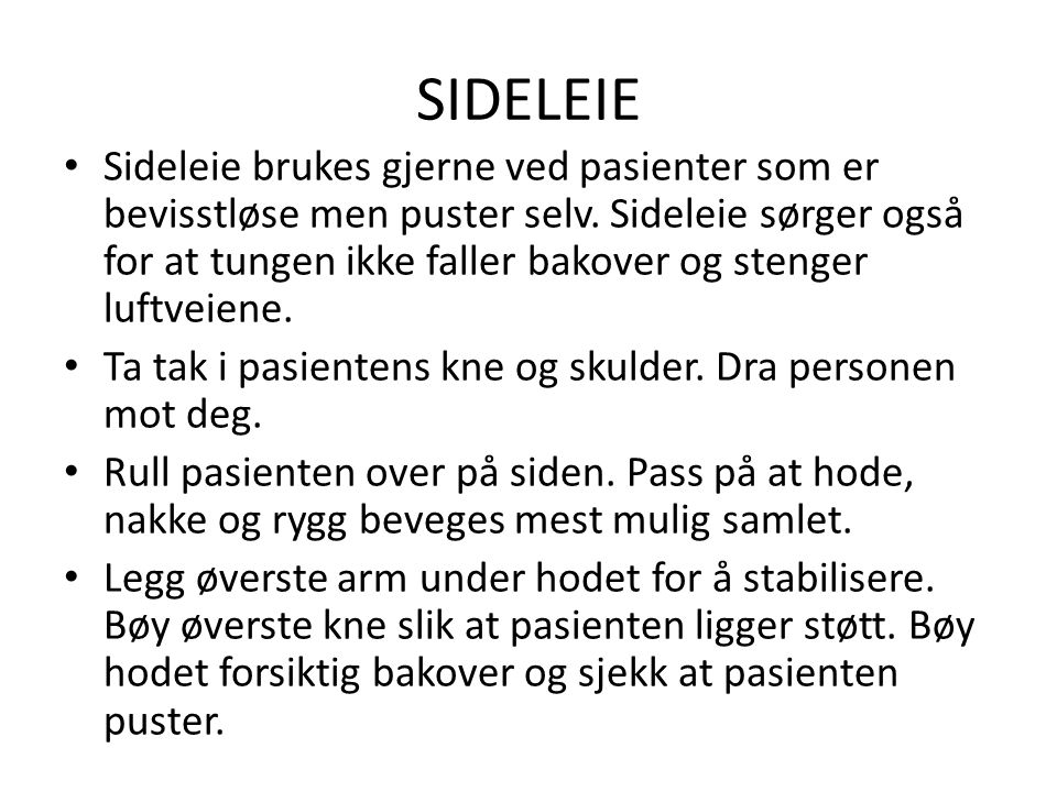 SIDELEIE
