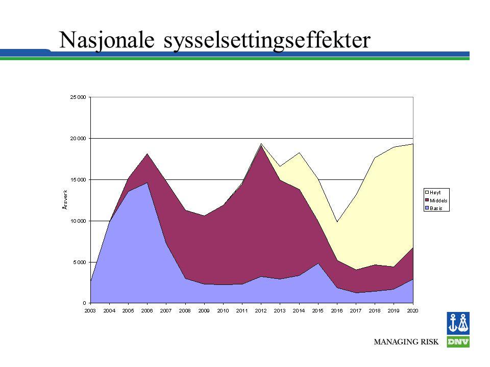 Nasjonale sysselsettingseffekter
