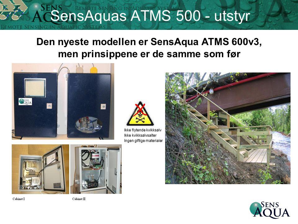 SensAquas ATMS 500 - utstyr