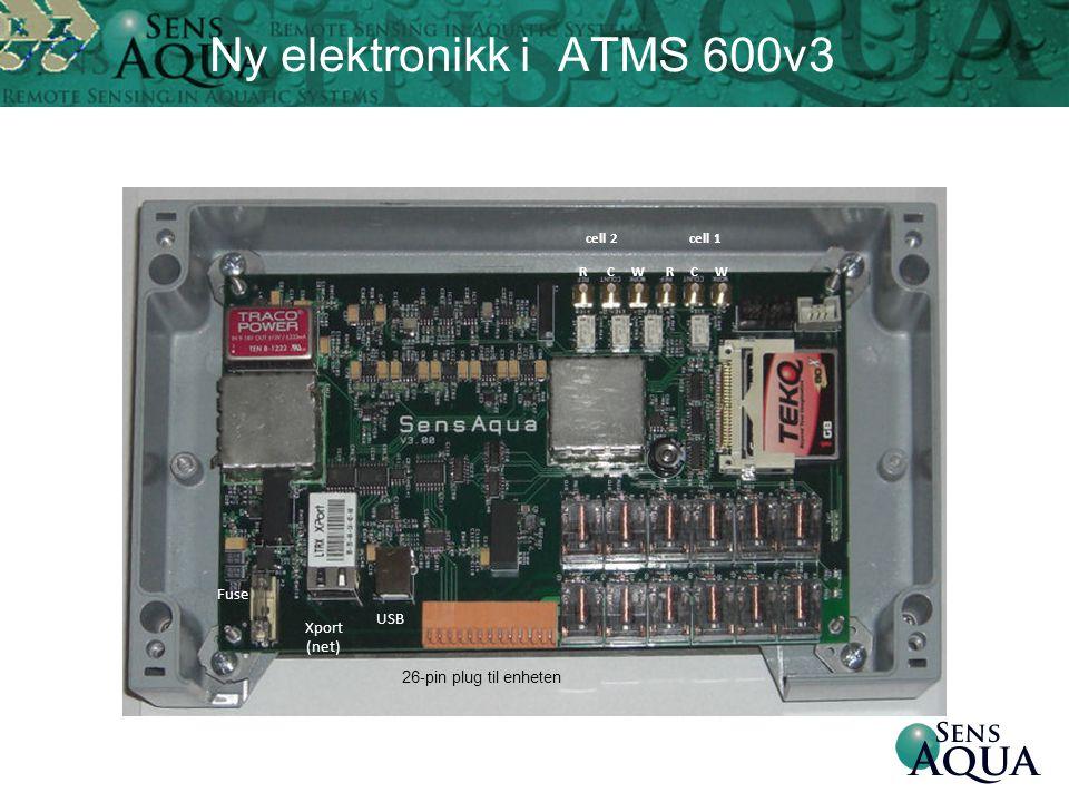 Ny elektronikk i ATMS 600v3 Fuse Xport (net) USB