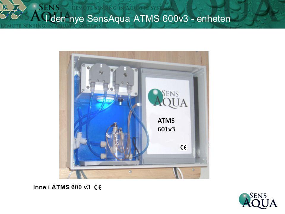 I den nye SensAqua ATMS 600v3 - enheten