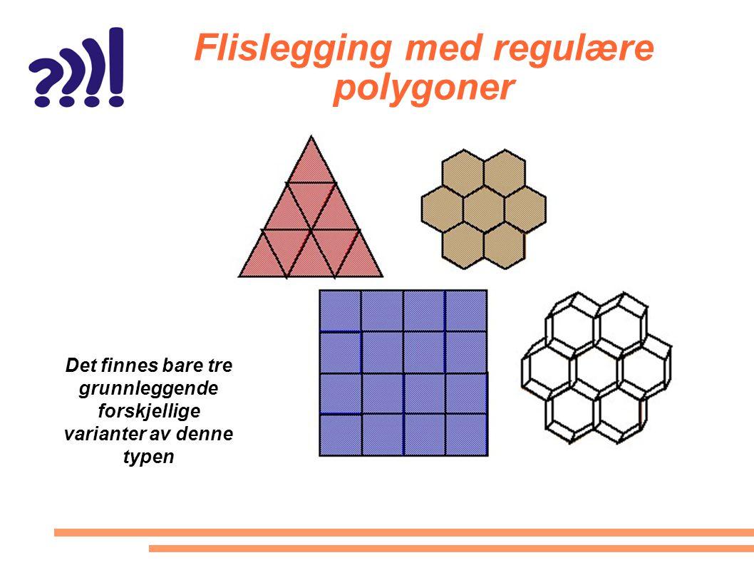 Flislegging med regulære polygoner