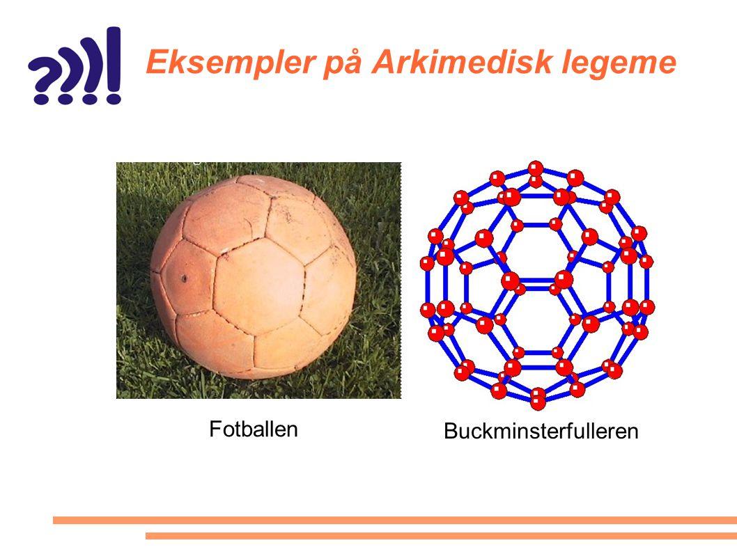 Eksempler på Arkimedisk legeme