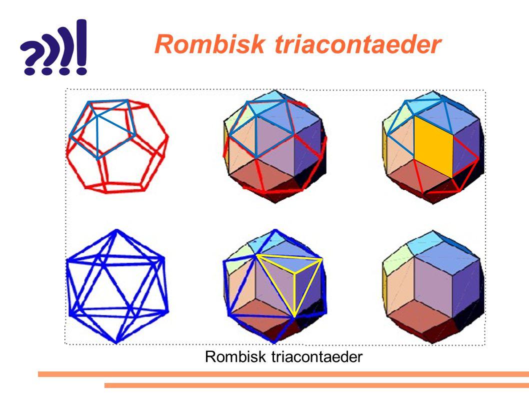 Rombisk triacontaeder